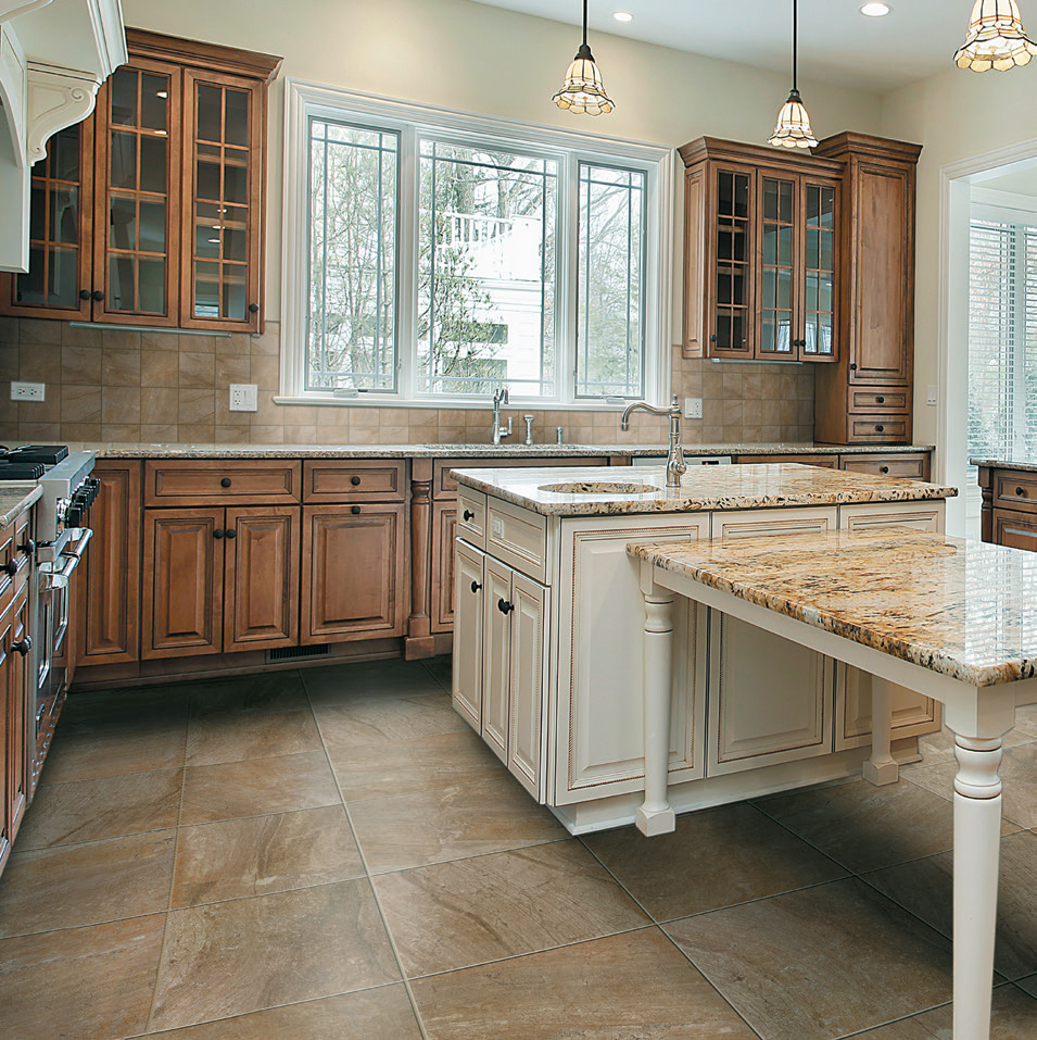Open Floor Plan Kitchen Renovation In Northern Virginia: Selected Tile Page