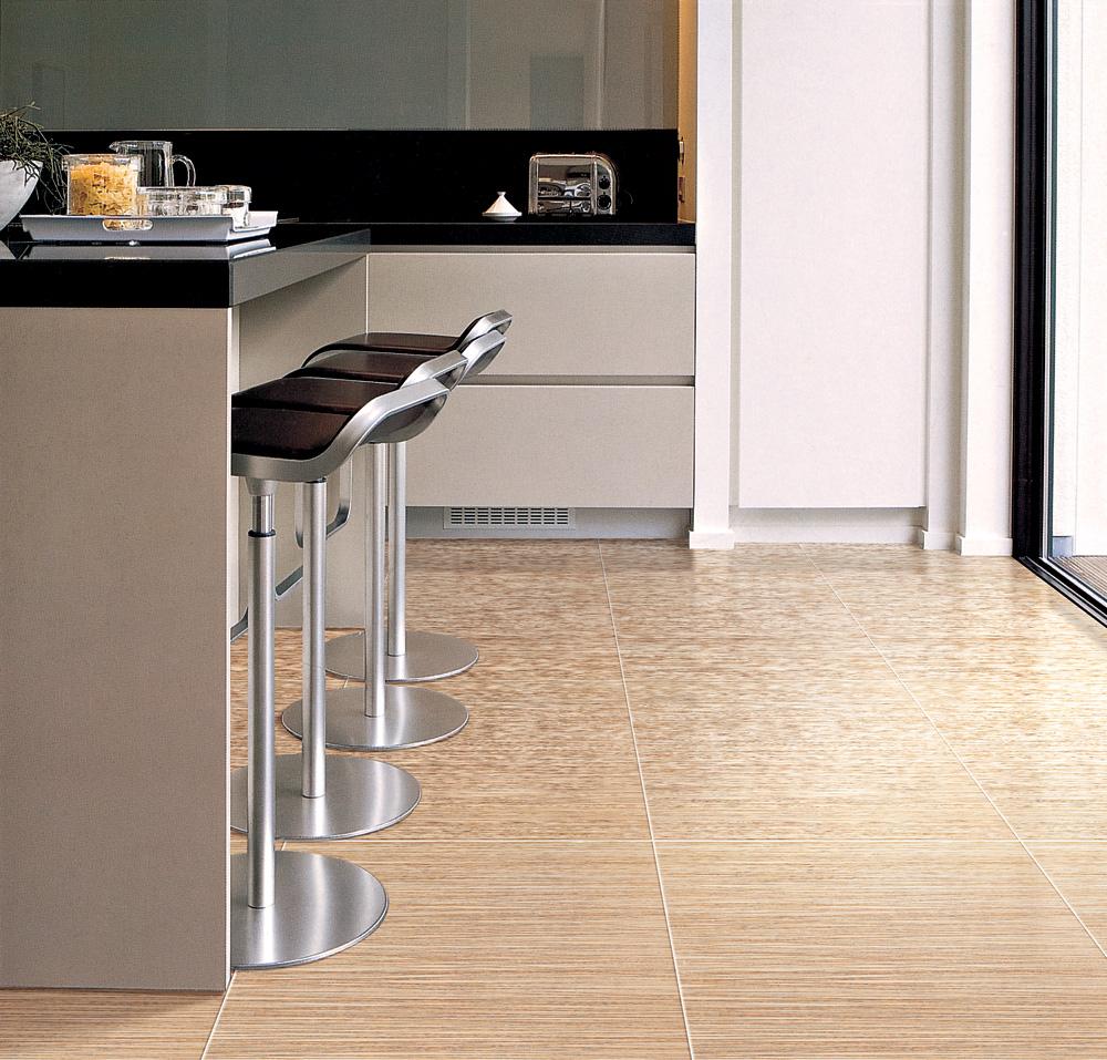 Choosing kitchen floor tiles